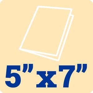 Cream Card Blank 5 x 7 Inch