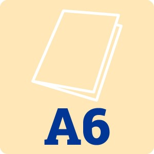 Cream Card Blank A6