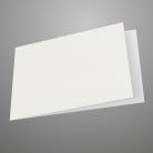 A6 Landscape White Card Blank