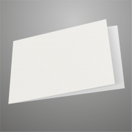 A5 Landscape White Card Blank