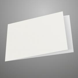 5x7 Landscape White Card Blank