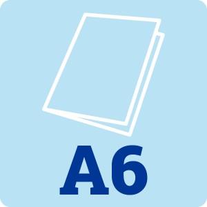 A6 White Card Blank