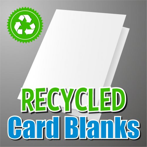 195mm Square Recycled Card Blank
