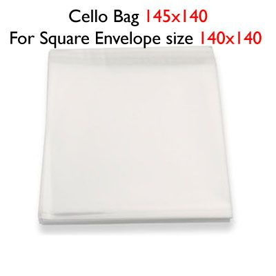 50 140mm x 145mm Cello Bags