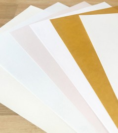 A4 Paper 100gsm Iridescent Mixed Colours Pack of 50