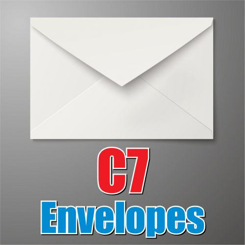 C7 White Envelope