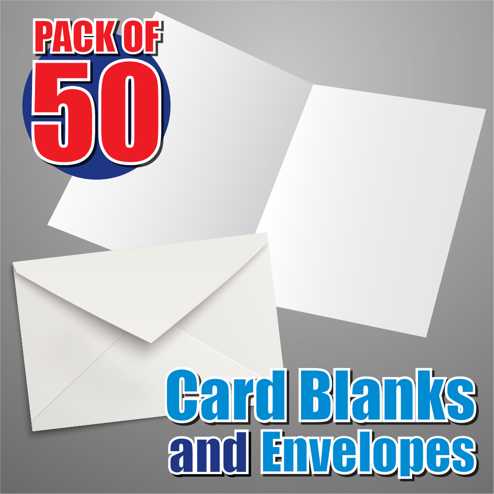 50 A5 Card Blanks And Envelopes Craft Card Blanks Card Blanks